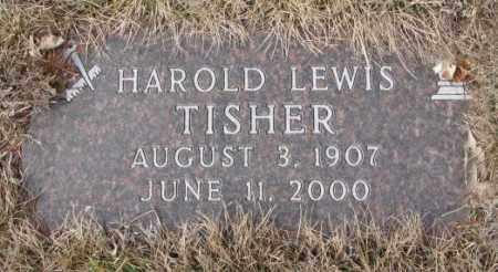 TISHER, HAROLD LEWIS - Yankton County, South Dakota | HAROLD LEWIS TISHER - South Dakota Gravestone Photos
