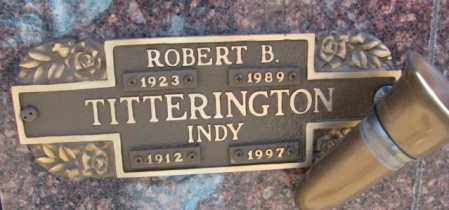 TITTERINGTON, INDY - Yankton County, South Dakota   INDY TITTERINGTON - South Dakota Gravestone Photos