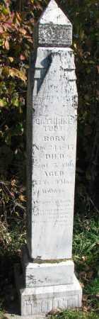 TODT, CATHRINE - Yankton County, South Dakota   CATHRINE TODT - South Dakota Gravestone Photos