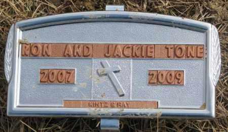 TONE, RON - Yankton County, South Dakota | RON TONE - South Dakota Gravestone Photos