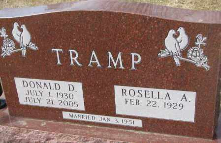 TRAMP, ROSELLA A. - Yankton County, South Dakota | ROSELLA A. TRAMP - South Dakota Gravestone Photos
