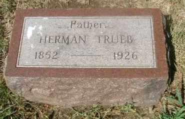 TRUEB, HERMAN - Yankton County, South Dakota   HERMAN TRUEB - South Dakota Gravestone Photos