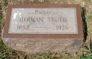 TRUEB, HERMAN - Yankton County, South Dakota | HERMAN TRUEB - South Dakota Gravestone Photos