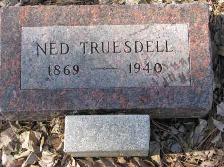 TRUESDELL, NED - Yankton County, South Dakota | NED TRUESDELL - South Dakota Gravestone Photos