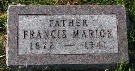 TRUSTY, FRANCIS MARION - Yankton County, South Dakota   FRANCIS MARION TRUSTY - South Dakota Gravestone Photos