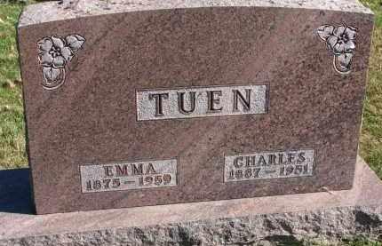 TUEN, CHARLES - Yankton County, South Dakota | CHARLES TUEN - South Dakota Gravestone Photos