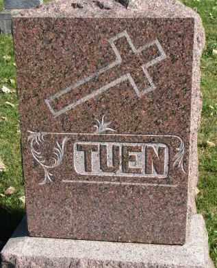 TUEN, FAMILY STONE - Yankton County, South Dakota | FAMILY STONE TUEN - South Dakota Gravestone Photos