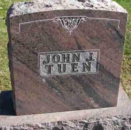 TUEN, JOHN J. - Yankton County, South Dakota | JOHN J. TUEN - South Dakota Gravestone Photos