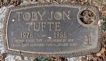 TUFTE, TOBY JON - Yankton County, South Dakota   TOBY JON TUFTE - South Dakota Gravestone Photos