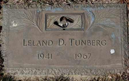 TUNBERG, LELAND D. - Yankton County, South Dakota | LELAND D. TUNBERG - South Dakota Gravestone Photos