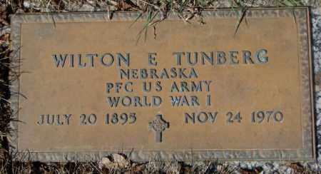 TUNBERG, WILTON E. - Yankton County, South Dakota   WILTON E. TUNBERG - South Dakota Gravestone Photos