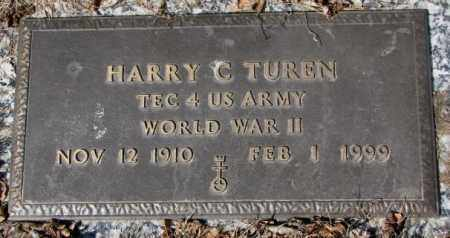 TUREN, HARRY C. - Yankton County, South Dakota | HARRY C. TUREN - South Dakota Gravestone Photos