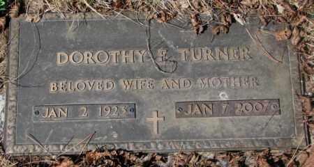 TURNER, DOROTHY E. - Yankton County, South Dakota | DOROTHY E. TURNER - South Dakota Gravestone Photos