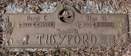 TWYFORD, VERYL C. - Yankton County, South Dakota   VERYL C. TWYFORD - South Dakota Gravestone Photos