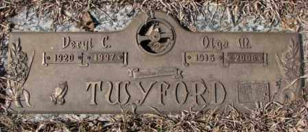 TWYFORD, OLGA M. - Yankton County, South Dakota | OLGA M. TWYFORD - South Dakota Gravestone Photos