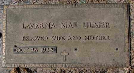 ULMER, LAVERNA MAE - Yankton County, South Dakota | LAVERNA MAE ULMER - South Dakota Gravestone Photos