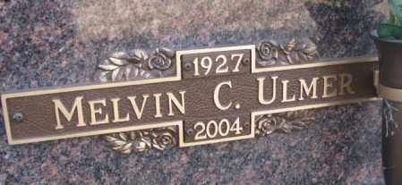 ULMER, MELVIN C. - Yankton County, South Dakota | MELVIN C. ULMER - South Dakota Gravestone Photos