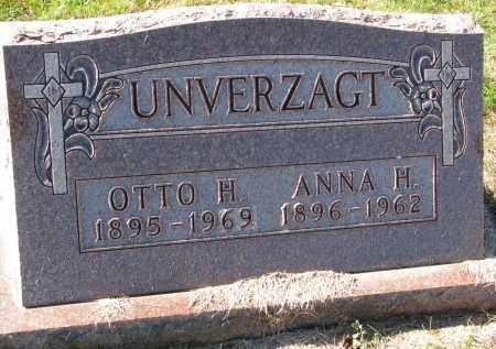 UNVERZAGT, OTTO H. - Yankton County, South Dakota   OTTO H. UNVERZAGT - South Dakota Gravestone Photos