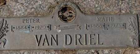 VAN DRIEL, PETER - Yankton County, South Dakota | PETER VAN DRIEL - South Dakota Gravestone Photos