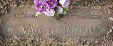 VAN GERPEN, LUVERNE E. - Yankton County, South Dakota | LUVERNE E. VAN GERPEN - South Dakota Gravestone Photos