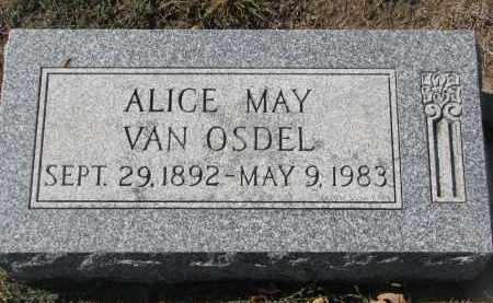 VAN OSDEL, ALICE MAY - Yankton County, South Dakota | ALICE MAY VAN OSDEL - South Dakota Gravestone Photos