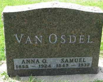 VAN OSDEL, SAMUEL - Yankton County, South Dakota | SAMUEL VAN OSDEL - South Dakota Gravestone Photos
