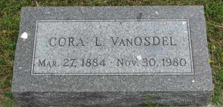 VAN OSDEL, CORA L. - Yankton County, South Dakota | CORA L. VAN OSDEL - South Dakota Gravestone Photos