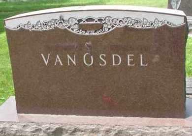 VAN OSDEL, FAMILY STONE - Yankton County, South Dakota | FAMILY STONE VAN OSDEL - South Dakota Gravestone Photos