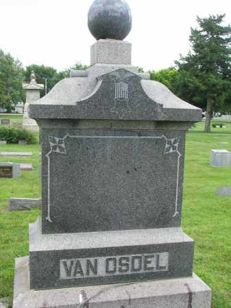 VAN OSDEL, FAMILY STONE - Yankton County, South Dakota | FAMILY STONE VAN OSDEL - South Dakota Gravestone Photos