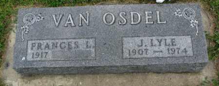 VAN OSDEL, J. LYLE - Yankton County, South Dakota | J. LYLE VAN OSDEL - South Dakota Gravestone Photos