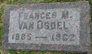 VAN OSDEL, FRANCES M. - Yankton County, South Dakota | FRANCES M. VAN OSDEL - South Dakota Gravestone Photos