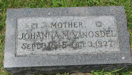 VAN OSDEL, JOHANNA M. - Yankton County, South Dakota | JOHANNA M. VAN OSDEL - South Dakota Gravestone Photos