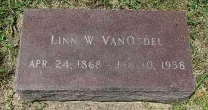 VAN OSDEL, LINN W. - Yankton County, South Dakota | LINN W. VAN OSDEL - South Dakota Gravestone Photos