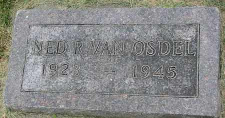VAN OSDEL, NED R. - Yankton County, South Dakota | NED R. VAN OSDEL - South Dakota Gravestone Photos