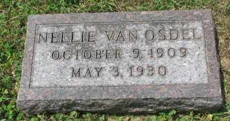 VAN OSDEL, NELLIE - Yankton County, South Dakota   NELLIE VAN OSDEL - South Dakota Gravestone Photos