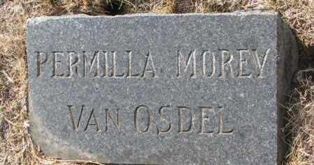 VAN OSDEL, PERMILLA - Yankton County, South Dakota | PERMILLA VAN OSDEL - South Dakota Gravestone Photos