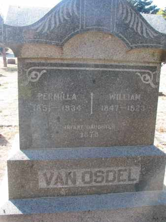 VAN OSDEL, INFANT DAUGHTER - Yankton County, South Dakota | INFANT DAUGHTER VAN OSDEL - South Dakota Gravestone Photos
