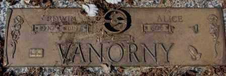 VANORNY, ALICE - Yankton County, South Dakota   ALICE VANORNY - South Dakota Gravestone Photos