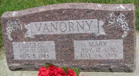 VANORNY, GEORGE - Yankton County, South Dakota | GEORGE VANORNY - South Dakota Gravestone Photos