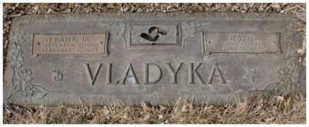 VLADYKA, JESSIE - Yankton County, South Dakota | JESSIE VLADYKA - South Dakota Gravestone Photos