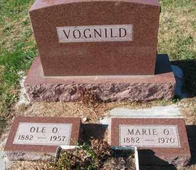VOGNILD, MARIE O. - Yankton County, South Dakota | MARIE O. VOGNILD - South Dakota Gravestone Photos