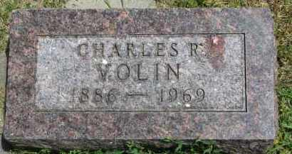 VOLIN, CHARLES R. - Yankton County, South Dakota | CHARLES R. VOLIN - South Dakota Gravestone Photos