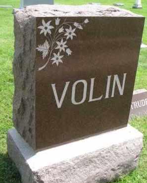 VOLIN, FAMILY STONE - Yankton County, South Dakota | FAMILY STONE VOLIN - South Dakota Gravestone Photos