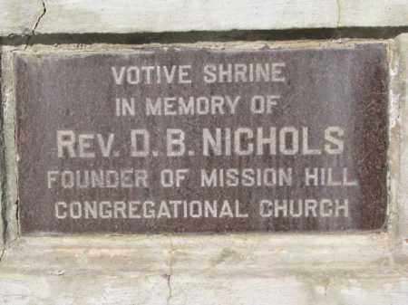 *VOTIVE SHRINE, NAMEPLATE - Yankton County, South Dakota | NAMEPLATE *VOTIVE SHRINE - South Dakota Gravestone Photos