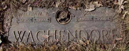 WACHENDORF, WILLIAM A. - Yankton County, South Dakota | WILLIAM A. WACHENDORF - South Dakota Gravestone Photos