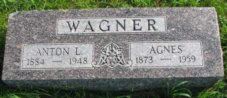 WAGNER, ANTON L. - Yankton County, South Dakota | ANTON L. WAGNER - South Dakota Gravestone Photos