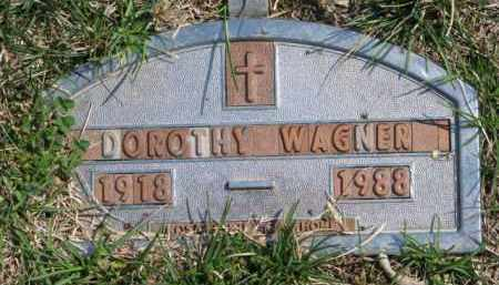 WAGNER, DOROTHY - Yankton County, South Dakota | DOROTHY WAGNER - South Dakota Gravestone Photos