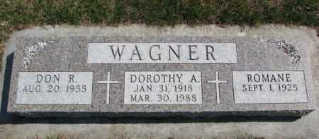 WAGNER, DOROTHY A. - Yankton County, South Dakota | DOROTHY A. WAGNER - South Dakota Gravestone Photos