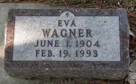 WAGNER, EVA - Yankton County, South Dakota | EVA WAGNER - South Dakota Gravestone Photos