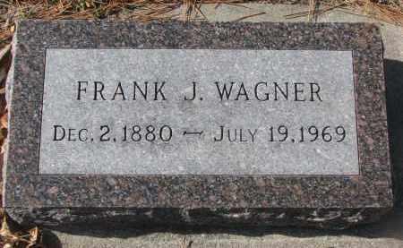 WAGNER, FRANK J. - Yankton County, South Dakota | FRANK J. WAGNER - South Dakota Gravestone Photos